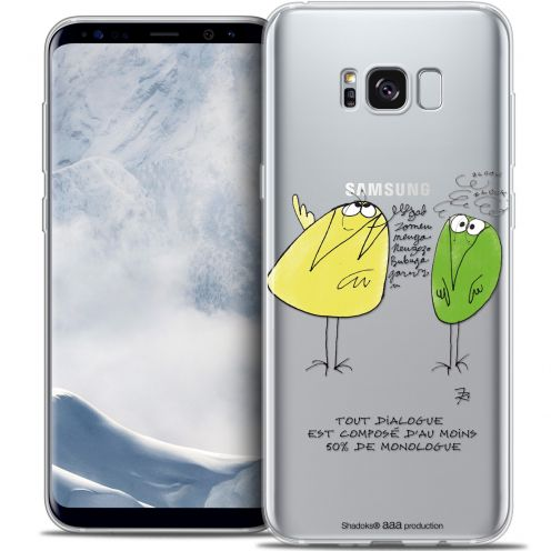 Extra Slim Crystal Gel Samsung Galaxy S8+/ Plus (G955) Case Les Shadoks® Le Dialogue