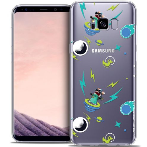 Crystal Gel Samsung Galaxy S8+/ Plus (G955) Case Lapins Crétins™ Space 1