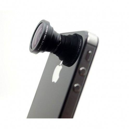 FishEye 180 ° + Macro Lens Photo / Video iPhone 5 / iPhone 4 / 4s / 3 G