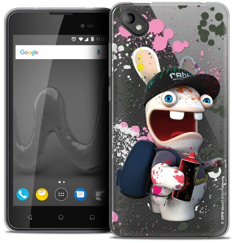 """Crystal Gel Wiko Sunny 2 PLUS (5"""") Case Lapins Crétins™ Painter"""