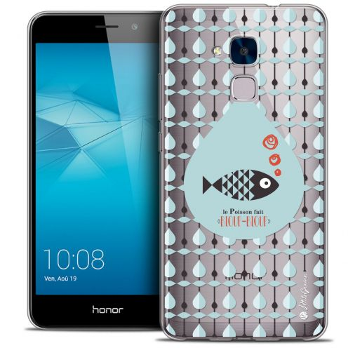 Extra Slim Crystal Gel Huawei Honor 5C Case Petits Grains® Le Poisson