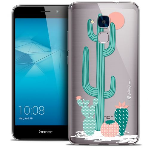 Extra Slim Crystal Gel Huawei Honor 5C Case Petits Grains® A l'Ombre des Cactus