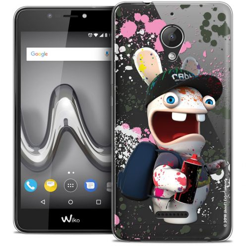 """Crystal Gel Wiko Tommy 2 PLUS (5.5"""") Case Lapins Crétins™ Painter"""
