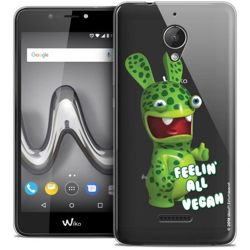 "Crystal Gel Wiko Tommy 2 PLUS (5.5"") Case Lapins Crétins™ Vegan"
