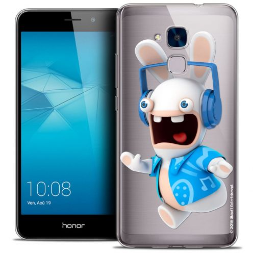 Crystal Gel Huawei Honor 5C Case Lapins Crétins™ Techno Lapin