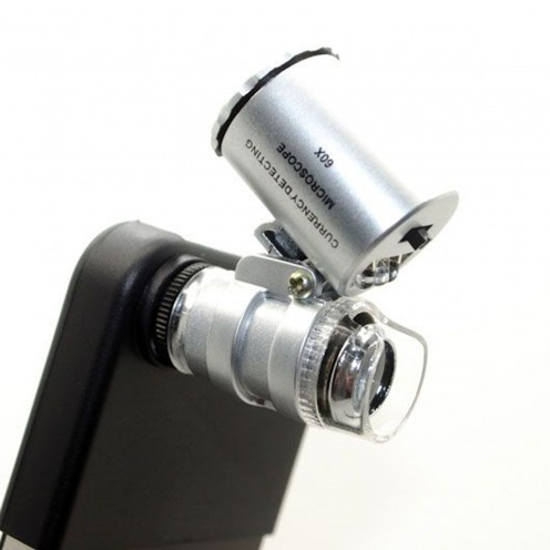 Microscope Lens 60 X with LED for iPhone 4 / 4 S