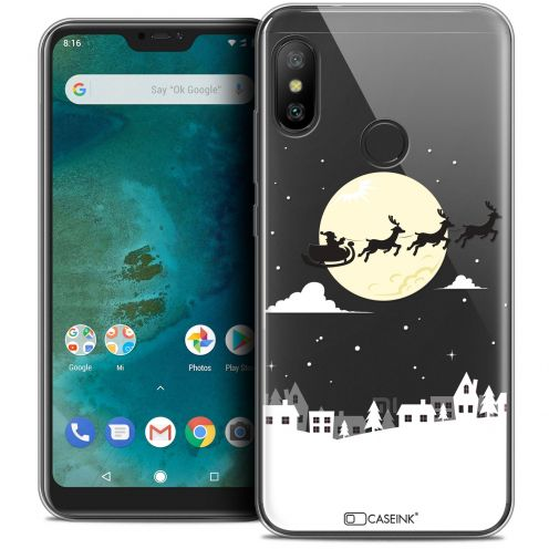 "Extra Slim Crystal Gel Xiaomi Mi A2 LITE (5.8"") Case Noël 2017 Flying Stanta"