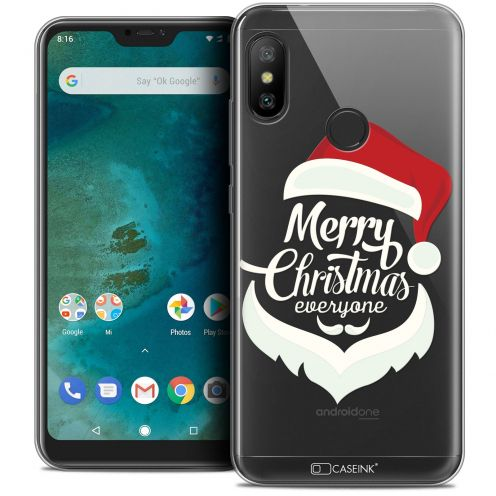 "Extra Slim Crystal Gel Xiaomi Mi A2 LITE (5.8"") Case Noël 2017 Merry Everyone"