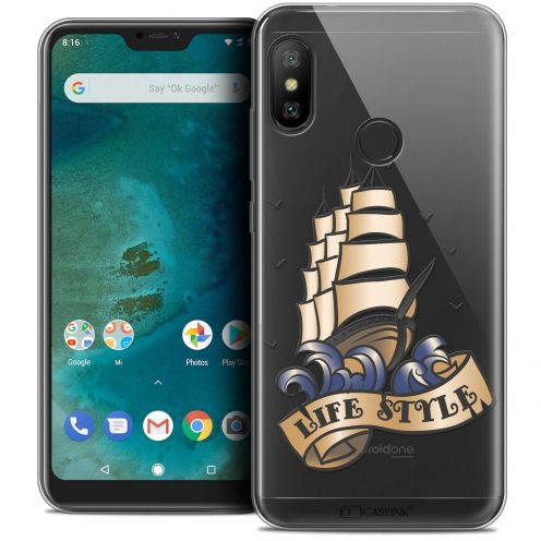 "Extra Slim Crystal Gel Xiaomi Mi A2 LITE (5.8"") Case Tatoo Lover Life Style"
