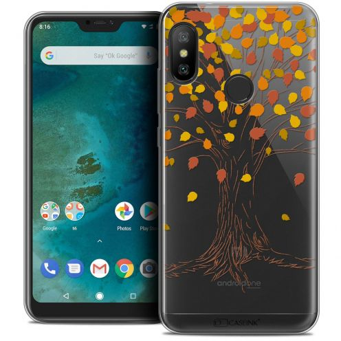 "Extra Slim Crystal Gel Xiaomi Mi A2 LITE (5.8"") Case Autumn 16 Tree"