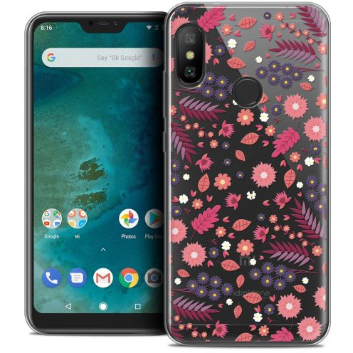 "Extra Slim Crystal Gel Xiaomi Mi A2 LITE (5.8"") Case Spring Printemps"