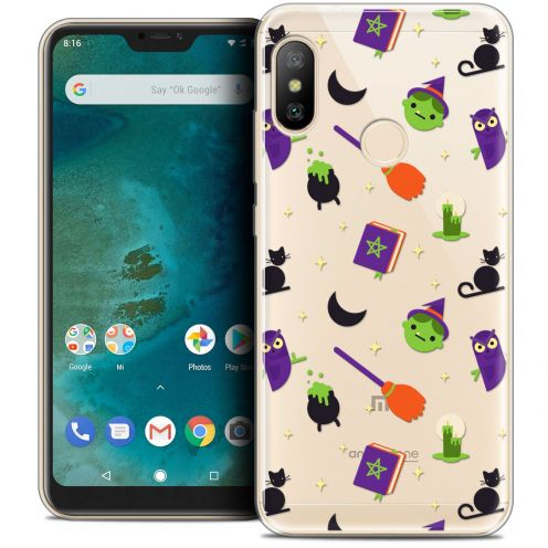 "Extra Slim Crystal Gel Xiaomi Mi A2 LITE (5.8"") Case Halloween Witch Potter"