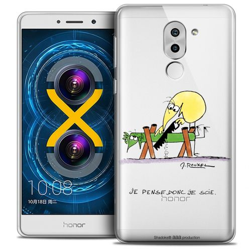 Extra Slim Crystal Gel Huawei Honor 6X Case Les Shadoks® Je pense Donc