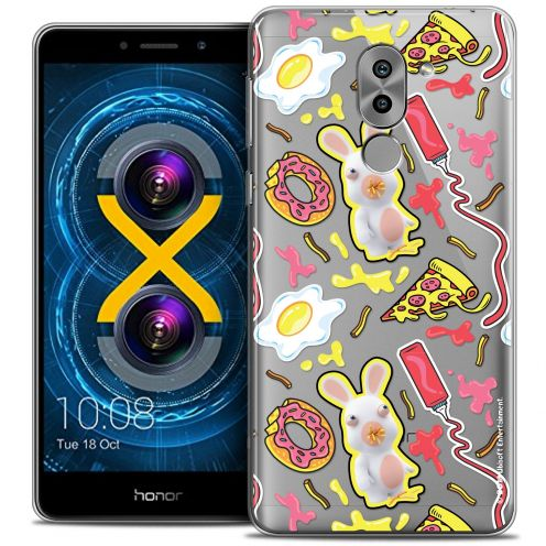 Crystal Gel Huawei Honor 6X Case Lapins Crétins™ Egg Pattern