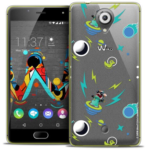 Crystal Gel Wiko U Feel Case Lapins Crétins™ Space 1
