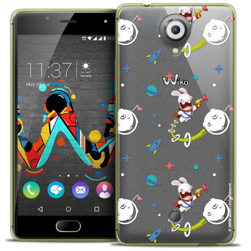 Crystal Gel Wiko U Feel Case Lapins Crétins™ Space 2
