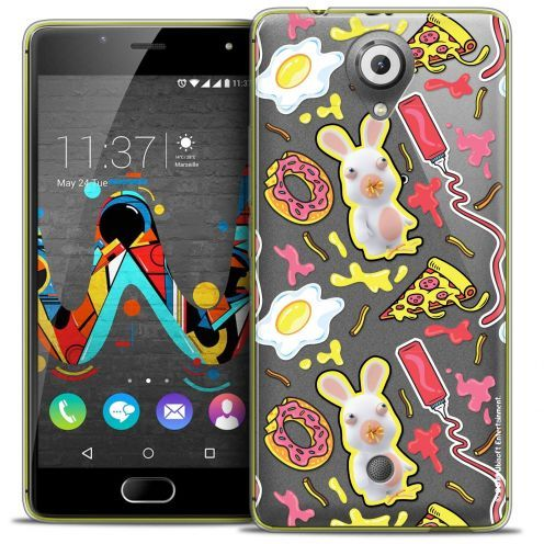Crystal Gel Wiko U Feel Case Lapins Crétins™ Egg Pattern