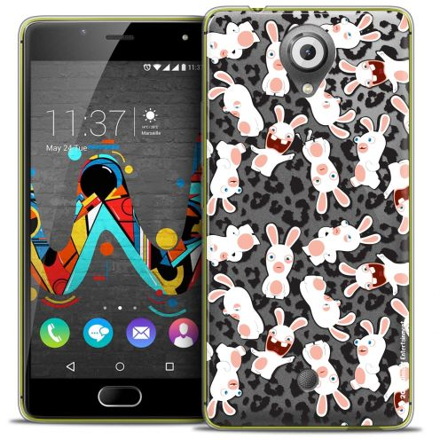 Crystal Gel Wiko U Feel Case Lapins Crétins™ Leopard Pattern