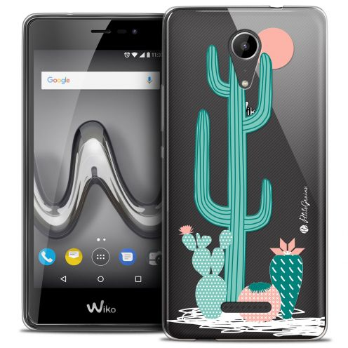 "Extra Slim Crystal Gel Wiko Tommy 2 (5"") Case Petits Grains® A l'Ombre des Cactus"
