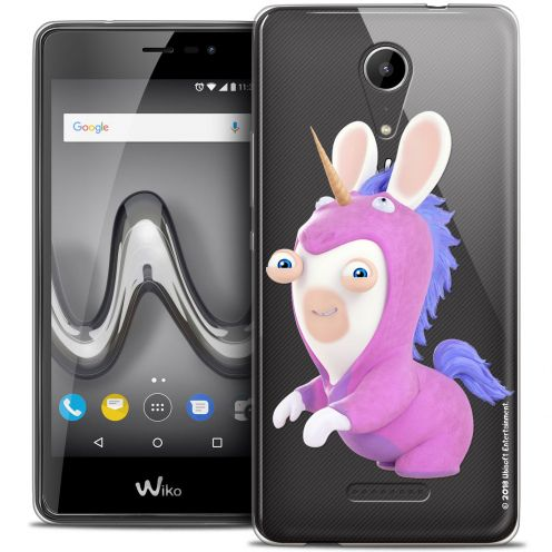 """Crystal Gel Wiko Tommy 2 (5"""") Case Lapins Crétins™ Licorne"""