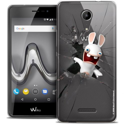 "Crystal Gel Wiko Tommy 2 (5"") Case Lapins Crétins™ Breaking Glass"