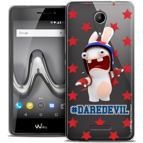 "Crystal Gel Wiko Tommy 2 (5"") Case Lapins Crétins™ Dare Devil"