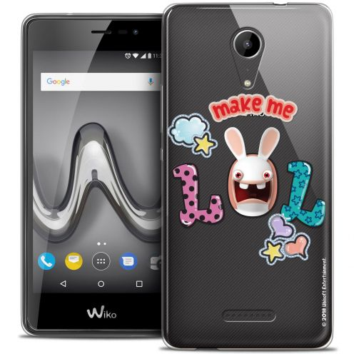 "Crystal Gel Wiko Tommy 2 (5"") Case Lapins Crétins™ LOL"