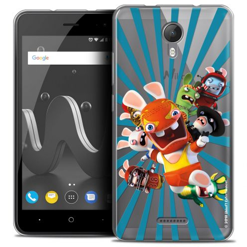 "Crystal Gel Wiko Jerry 2 (5"") Case Lapins Crétins™ Super Heros"