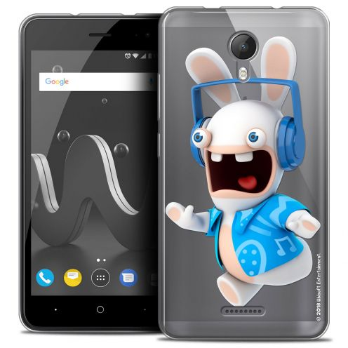"""Crystal Gel Wiko Jerry 2 (5"""") Case Lapins Crétins™ Techno Lapin"""