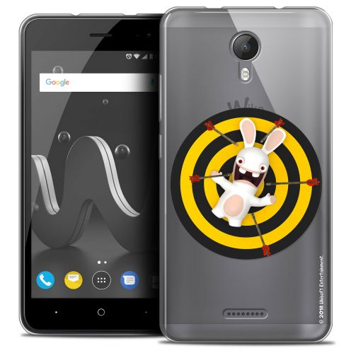"""Crystal Gel Wiko Jerry 2 (5"""") Case Lapins Crétins™ Target"""