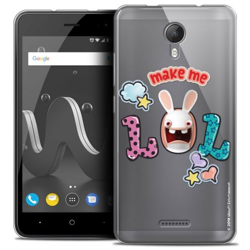 "Crystal Gel Wiko Jerry 2 (5"") Case Lapins Crétins™ LOL"