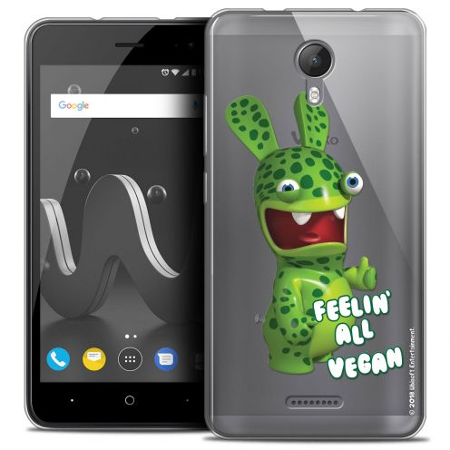 "Crystal Gel Wiko Jerry 2 (5"") Case Lapins Crétins™ Vegan"
