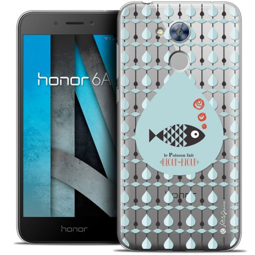 """Extra Slim Crystal Gel Huawei Honor 6A (5"""") Case Petits Grains® Le Poisson"""