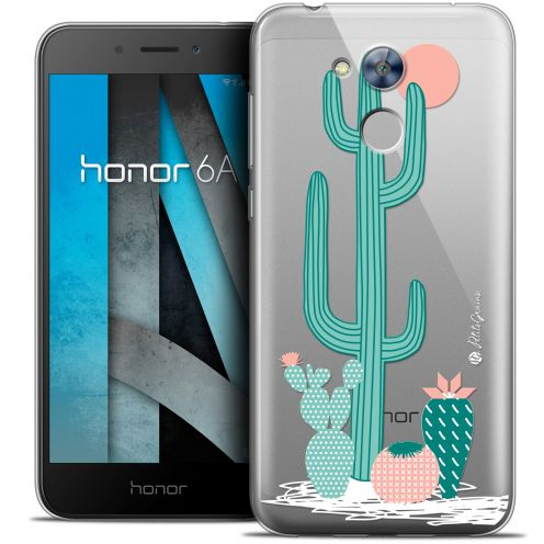 "Extra Slim Crystal Gel Huawei Honor 6A (5"") Case Petits Grains® A l'Ombre des Cactus"