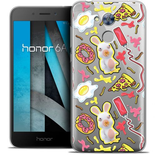 "Crystal Gel Huawei Honor 6A (5"") Case Lapins Crétins™ Egg Pattern"