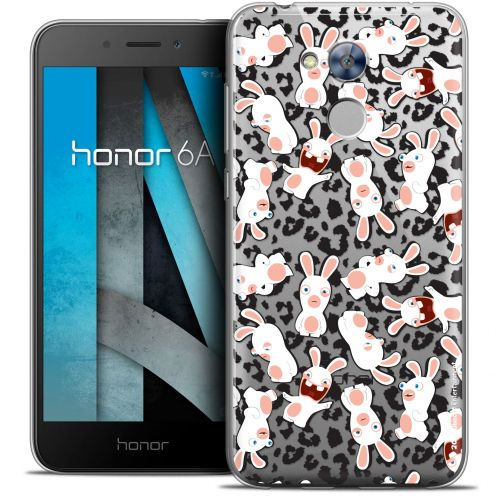 "Crystal Gel Huawei Honor 6A (5"") Case Lapins Crétins™ Leopard Pattern"