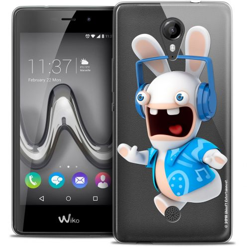 Crystal Gel Wiko Tommy Case Lapins Crétins™ Techno Lapin