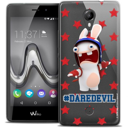Crystal Gel Wiko Tommy Case Lapins Crétins™ Dare Devil
