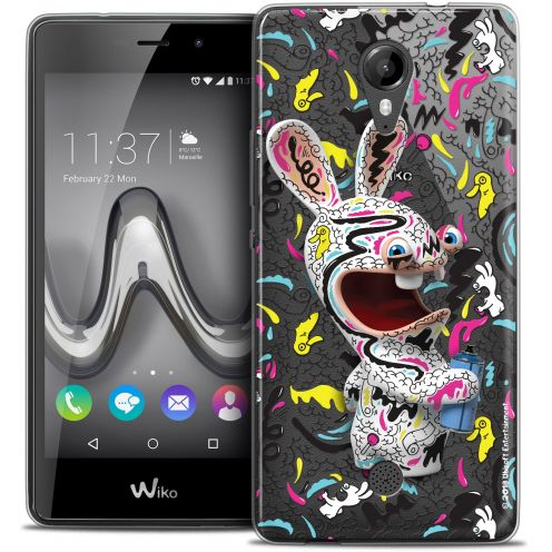 Crystal Gel Wiko Tommy Case Lapins Crétins™ Tag