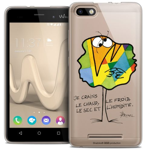 Extra Slim Crystal Gel Wiko Lenny 3 Case Les Shadoks® Chaud ou Froid