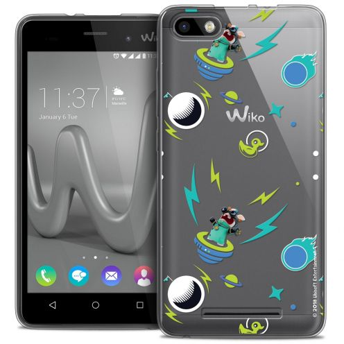 Crystal Gel Wiko Lenny 3 Case Lapins Crétins™ Space 1
