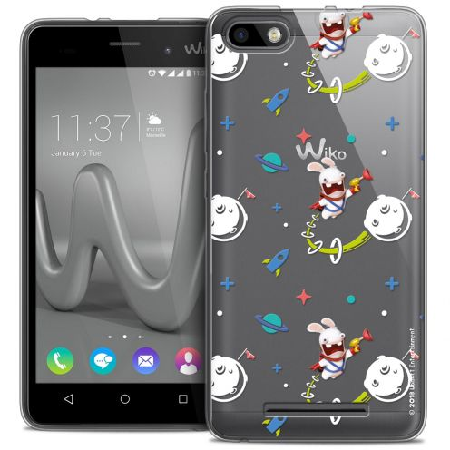 Crystal Gel Wiko Lenny 3 Case Lapins Crétins™ Space 2
