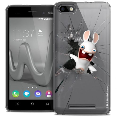 Crystal Gel Wiko Lenny 3 Case Lapins Crétins™ Breaking Glass