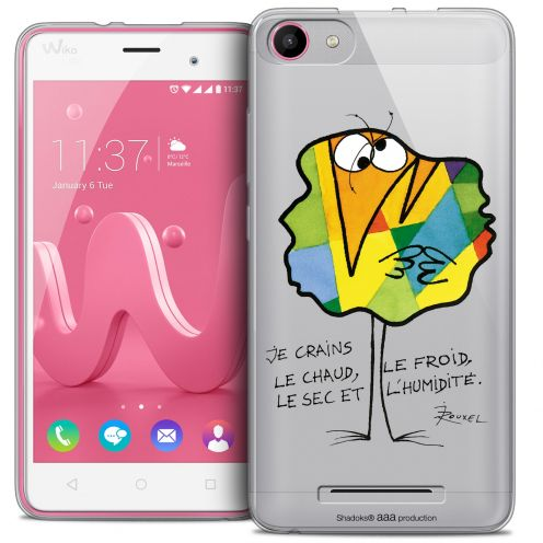 Extra Slim Crystal Gel Wiko Jerry Case Les Shadoks® Chaud ou Froid