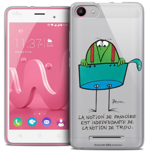 Extra Slim Crystal Gel Wiko Jerry Case Les Shadoks® La Passoire