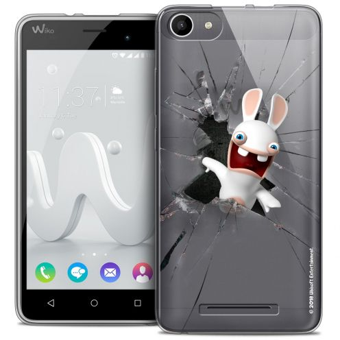 Crystal Gel Wiko Jerry Case Lapins Crétins™ Breaking Glass