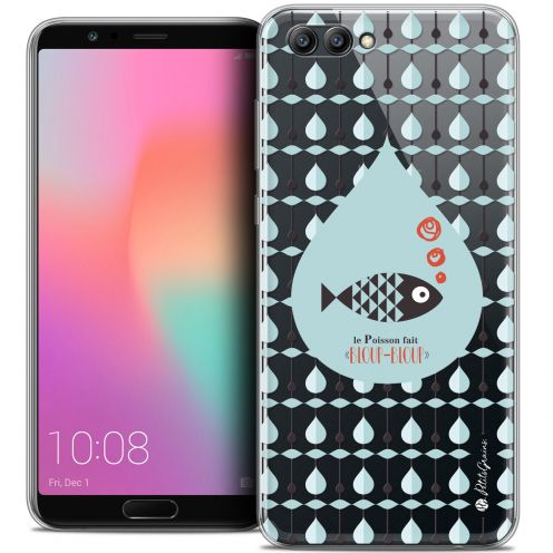 "Extra Slim Crystal Gel Honor View 10 / V10 (6"") Case Petits Grains® Le Poisson"