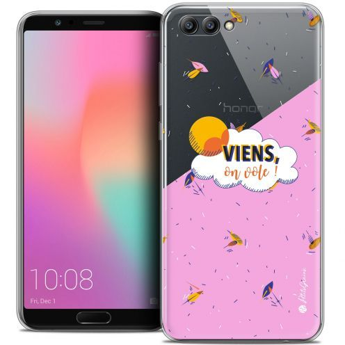 "Extra Slim Crystal Gel Honor View 10 / V10 (6"") Case Petits Grains® VIENS, On Vole !"