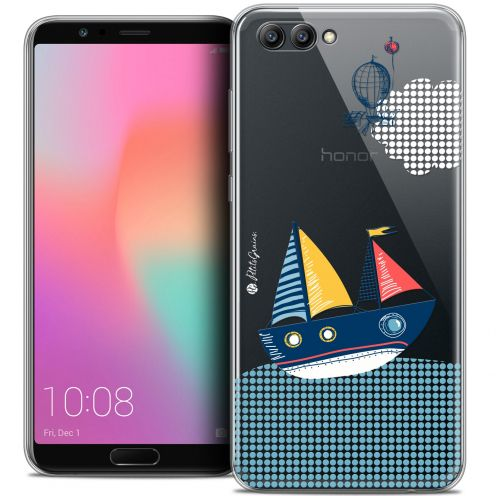 "Extra Slim Crystal Gel Honor View 10 / V10 (6"") Case Petits Grains® MVE Le Bateau"