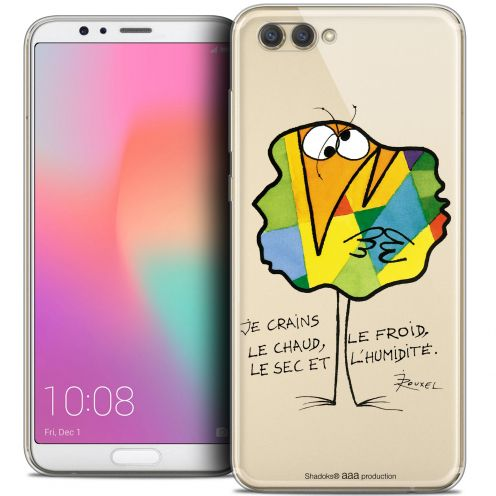 "Extra Slim Crystal Gel Honor View 10 / V10 (6"") Case Les Shadoks® Chaud ou Froid"